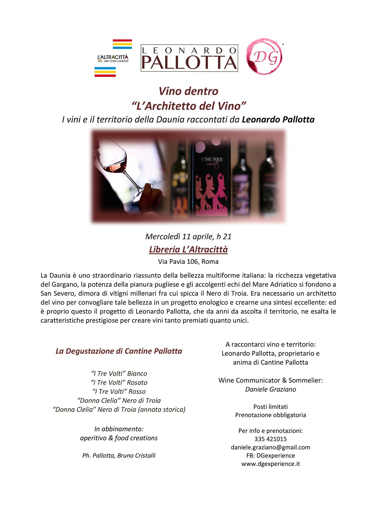 Microsoft Word - 11 aprile - L'Architetto del Vino